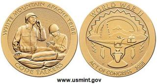 Medallas White Mountain Apache Tribe