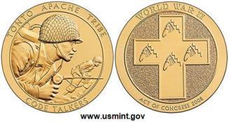 Medallas Tonto Apache Tribe