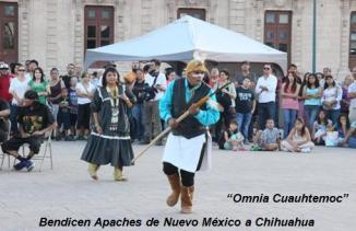 Bendicen Apaches de Nuevo México a Chihuahua