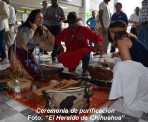 Ceremonia de purificación