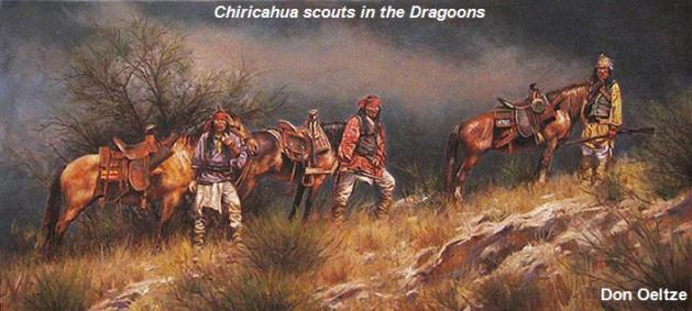 Chiricahua scouts in the Dragoons - Don Oelze