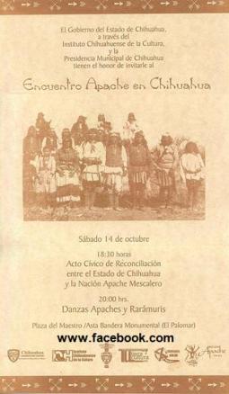 Encuentro Apache en Chihuahua
