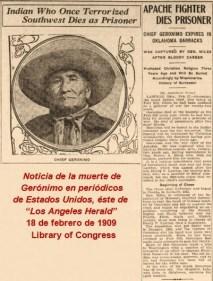Los Angeles Herald, 18 de febrero de 1909