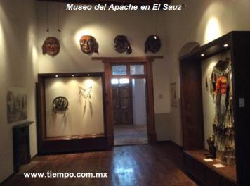 Museo del Apache en El Sauz