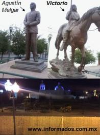 Quitan estatua de Victorio