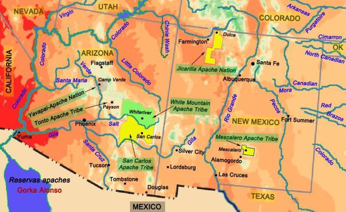 Reservas apaches