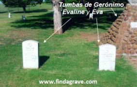 Tumbas de Gerónimo, Evaline y Eva