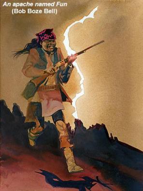 An apache named Fun (Bob Boze Bell)