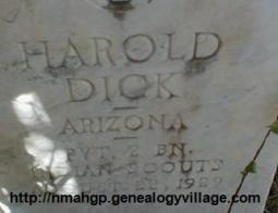 Harold Dick