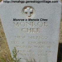 Monroe o Menola Chee