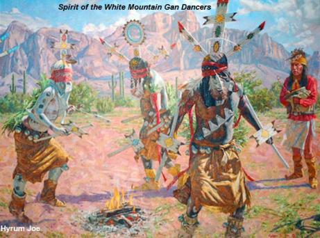 Spirit of the White Mountain Gan Dancers - Hyrum Joe